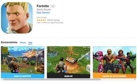 fortnite est officiellement disponible sur ios mais pas