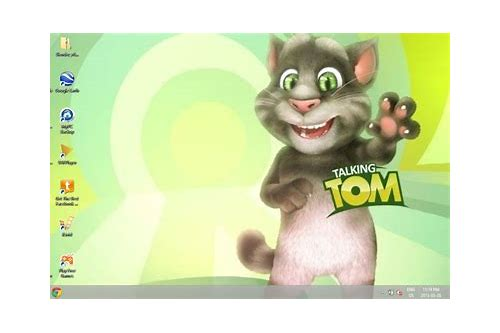 talking tom wallpaper download