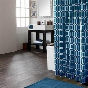 Rideau Salle De Bain : rideau de douche rideaux de douche salle de bain bouclair ~ Dailycaller-alerts.com Idées de Décoration