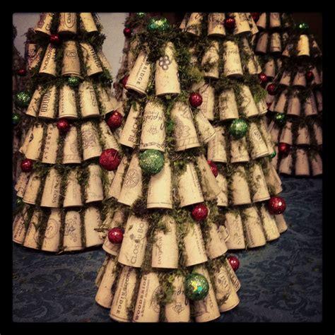 christmas cork idea images wine cork trees www recorkedllc cork