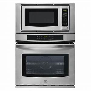 Kitchenaid electric combination wall oven 27 in for Wall oven microwave combo