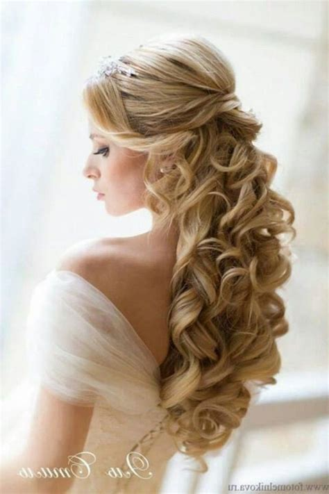 wedding hairstyles  long hair   dfemale beauty