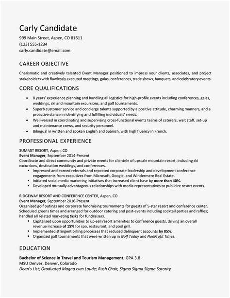 Resume Address Format by Address Format In Resume Filename Sle Template