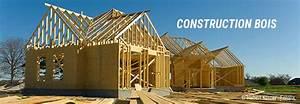 Maison En Bois Construction : construction d 39 une maison ossature bois ~ Melissatoandfro.com Idées de Décoration