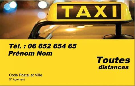 modele carte de visite taxi carte de visite taxi mod 232 le gratuit 224 imprimer nuit