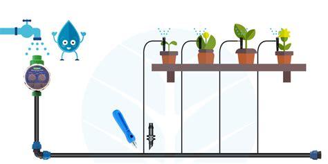 impianti irrigazione terrazzo come realizzare l impianto di irrigazione a goccia per
