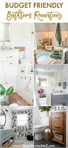 Bathroom, Renovation, Tips, 5, Budget, Friendly, Bathroom
