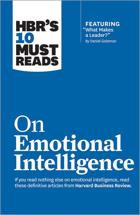 emotional intelligence hbr