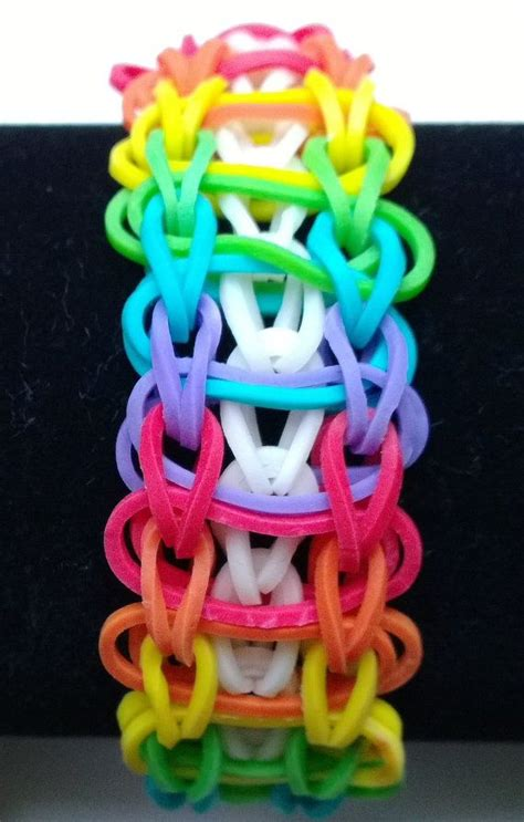 rubber band designs rubber band loom designs rainbow loom band rope ladder