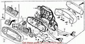 Honda Vf750s Sabre 1983  D  Usa Instruments