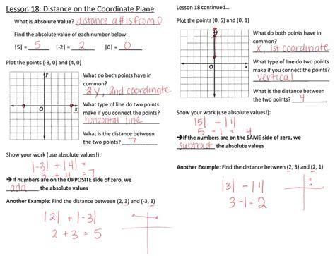 coordinate plane  grade math website