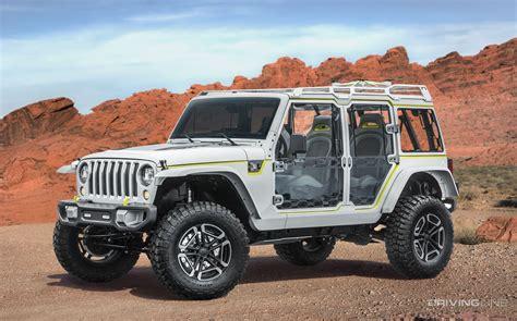 new jeep concept truck unveiled 2017 jeep concept vehicles drivingline
