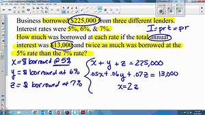 3 4 Multivariable Systems Infinite Solutions  U0026 Word