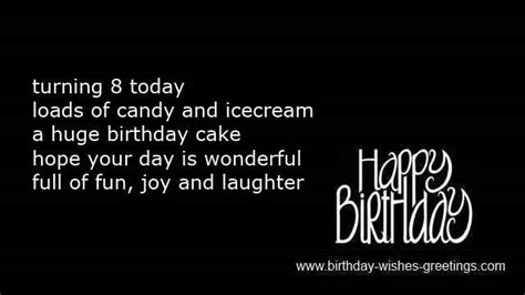 8 Year Old Birthday Quotes