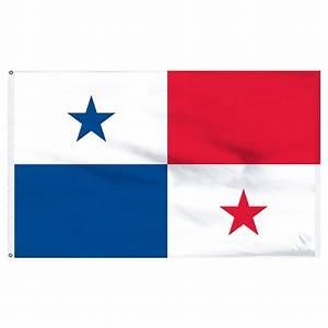 "Panama 12"" x 18"" Nylon Flag"
