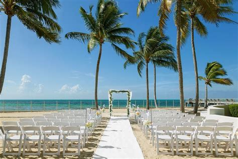 southernmost beach resort wedding ceremony reception