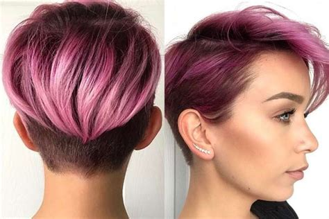 And Purple Hairstyles by Purple Hairstyles 2017 Fashion And
