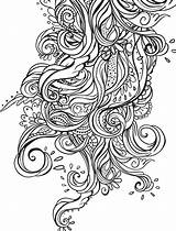 Coloring Pages Pattern Aztec Crazy Adults Printable Getcolorings Busy sketch template