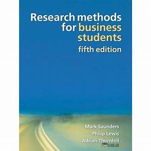 A Comprehensive Solution Manual For Research Methods For