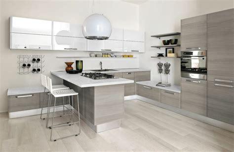 plan de travail cuisine gris plan de travail cuisine moderne en et bois