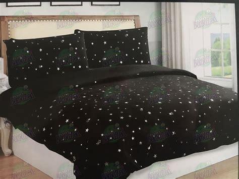 gold star duvet cover star duvet cover pillowcase bedding bed set 4 colours
