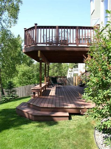 Two Story Deck Ideas by Best 25 Second Story Deck Ideas On Pinterest