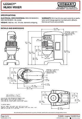 Hobart Mixer Wiring Diagram Download Collection