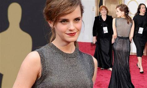 Emma Watson Brings Touch Magic Oscars Red Carpet