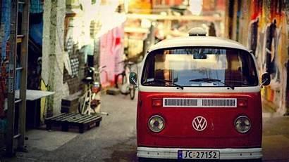 Bus Vw Volkswagen Wallpapers Van Desktop Hippie