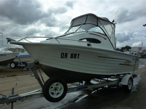 cabin fisher boat listing quintrex 560 spirit fisher cuddy cabin