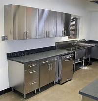 metal cabinets kitchen Best Images Steel kitchen cabinets ideas | Home decor ...