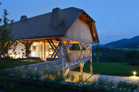 Barns Homes by Architects Transform 150 Year Slovenian Hay Barn Into