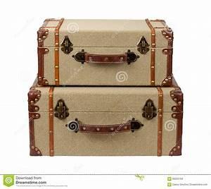 Valise En Bois : valises en bois empil es de toile de jute de deco photo stock image 60203164 ~ Teatrodelosmanantiales.com Idées de Décoration