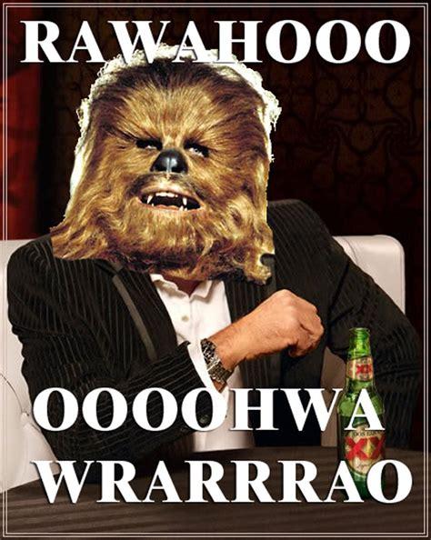 Chewbacca Memes - chewbacca meme quotes