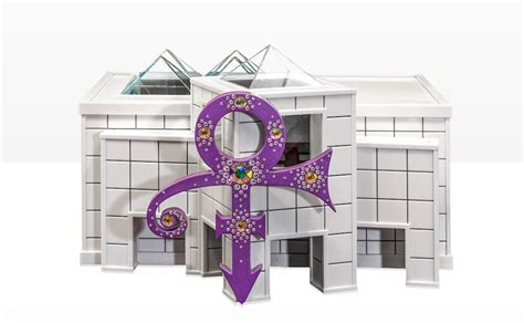See the first photos here. Prince's Urn Is a 3D-Printed Model of His Home and Studio