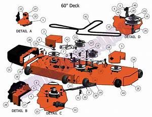 2011 Czt 60 U0026quot  Deck Assembly