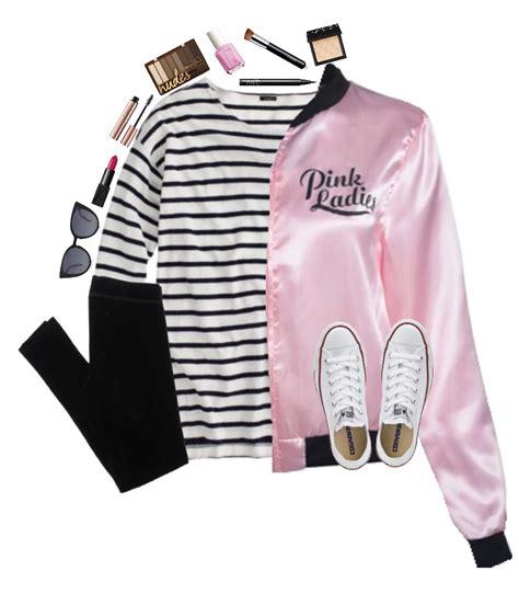 Cute grease pink ladies costume | halloween | Pinterest ...