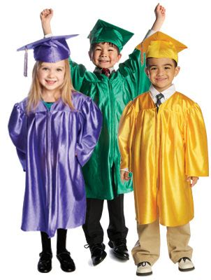 graduation gowns caps tassels for kindergarten and 576 | hero kids graduation