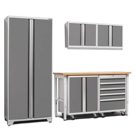 new age storage cabinets gladiator premier series pre assembled 66 in h x 102 in