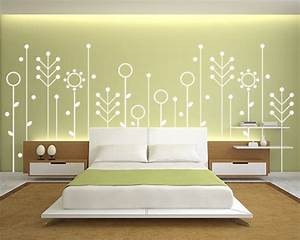 Paint wall design bedroom designs simple decor