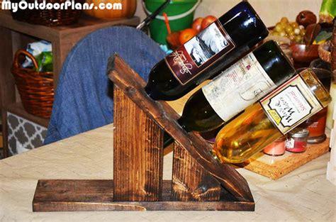 diy wine holder   bottles myoutdoorplans