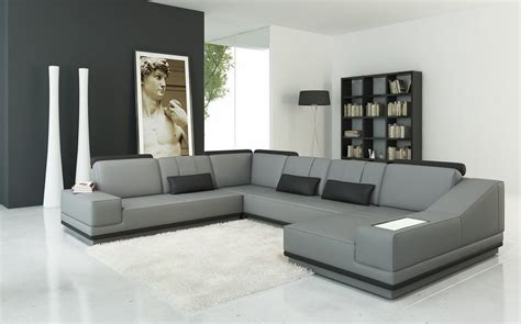 Living Room Ideas With Grey Leather Sofa
