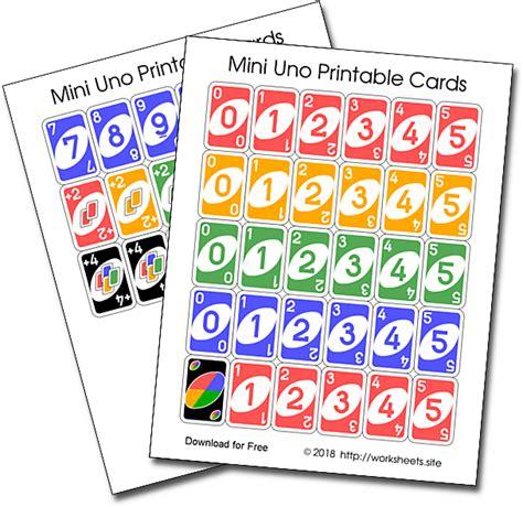 printable uno cards deck uno cards  card games cards