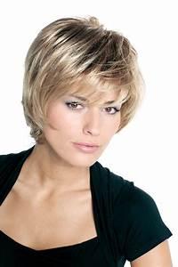 Coupe Sur Cheveux Court : coupe de cheveux carr court effil avec frange ~ Melissatoandfro.com Idées de Décoration