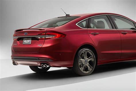 usa ford fusion facelift  novita auto  nuovi