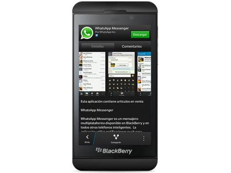 whatsapp para blackberry 10 ya esta disponible 161 descargalo