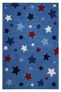 Teppich Kinderzimmer Sterne : teppich sterne blau smart kids im kinderlampenland kaufen ~ Eleganceandgraceweddings.com Haus und Dekorationen