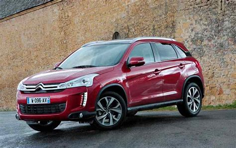 20182019 Citroen C4 Aircross  Lovely Urban Crossover