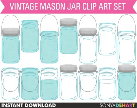 30 Best Images About Templates Anddigital Graphics 30 Best Jar Clip Images On