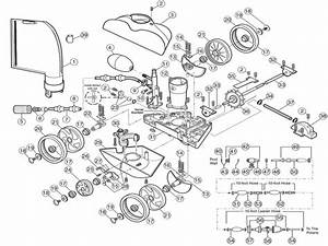 Polaris 280 Pool Cleaner Parts Diagram